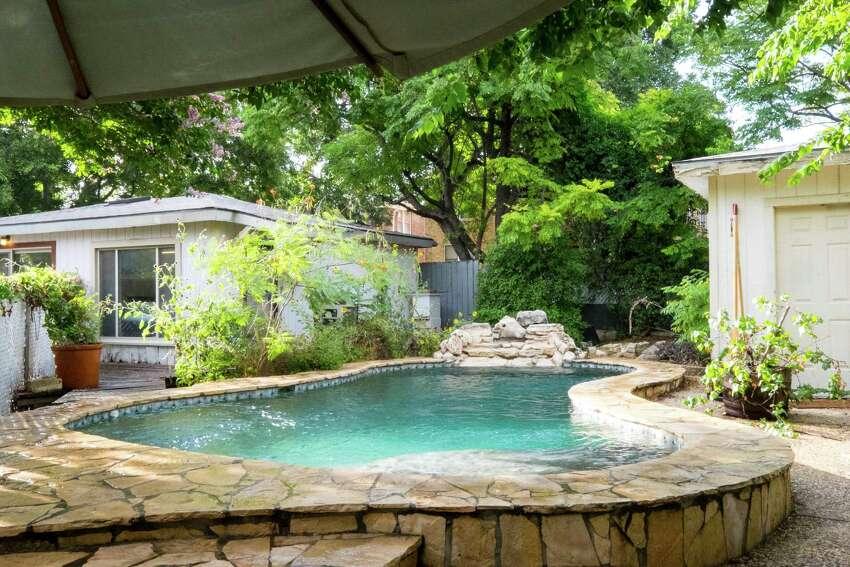 Rare for an Alta Vista duplex, Bogle's has a pool out back.
