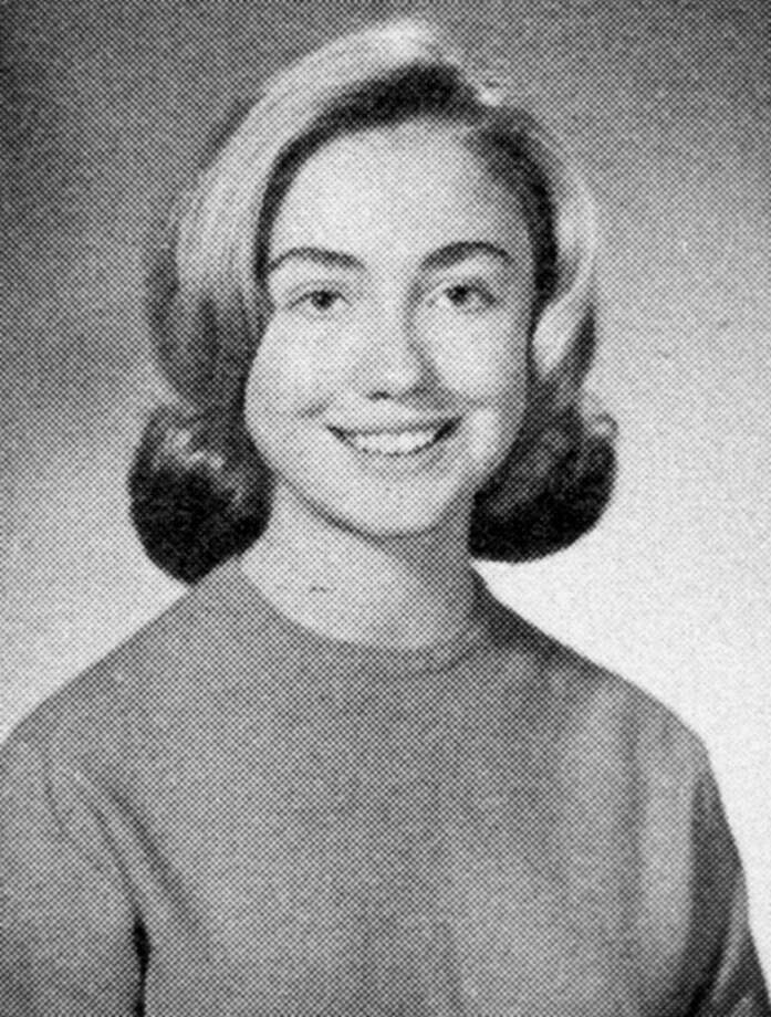 Hillary Clinton through the yearsHillary Rodham Clinton seen here as a high school student at Maine East High School, Park Ridge, Illinois in 1965, has been in the public eye for decades. Take a look back the former first lady, senator, secretary of state and now Democratic presidential nominee.  Photo: Tim Boyle/Getty Images