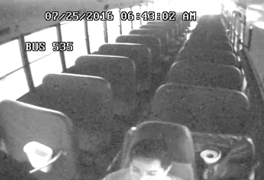 Oscar Nunez Jimenez, 21, is accused of stealing a Spring Independent School District bus on July 25, 2016. He was arrested after he crashed the bus. Photo: Spring ISD