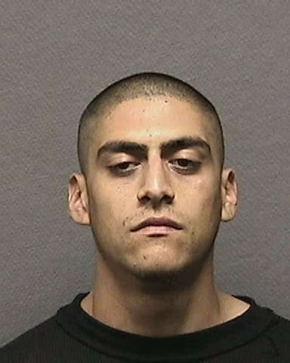 Gilberto Davila is wanted by Houston Crime Stoppers on a charge of assault bodily injury to a family member.