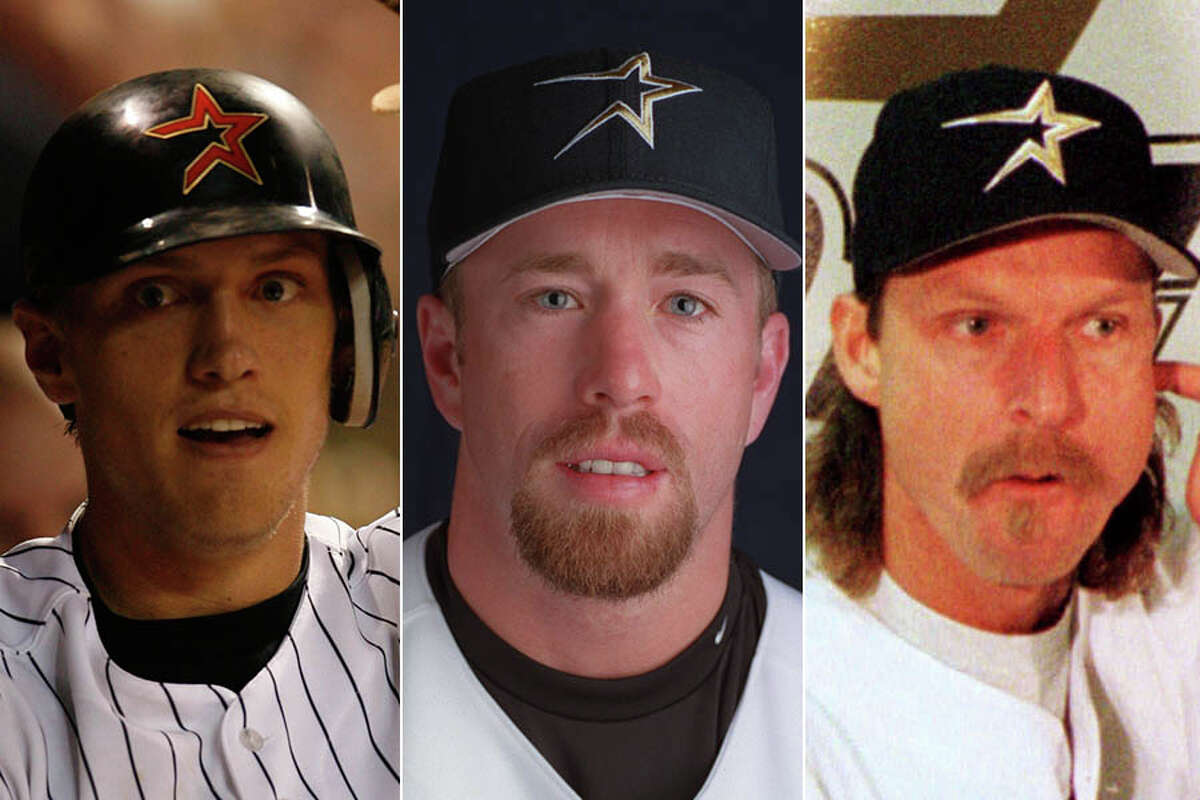 Hunter Pence (from left), Jeff Bagwell and Randy Johnson have been involved in some of the Astros' most notable trade-deadline deals. Click through the gallery for our best and worst Astros deadline deals through the years.