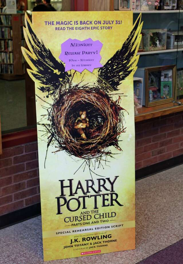 """The Norwalk Public Library will have a book release party for """"Harry Potter and the Cursed Child"""" from 10 p.m. to midnight Saturday. Photo: Thane Grauel / Hearst Connecticut Media / Connecticut Post"""