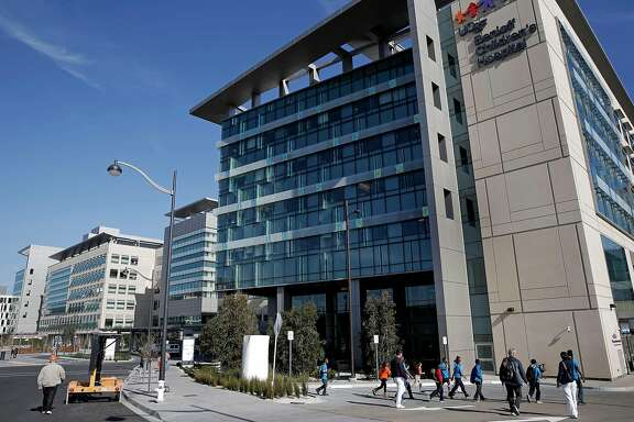 The UCSF Medical Center at Mission Bay in San Francisco, Ca., is preparing to officially open its doors on Feb. 1, 2015 after more than decade of construction as seen on Tuesday January, 27, 2015.