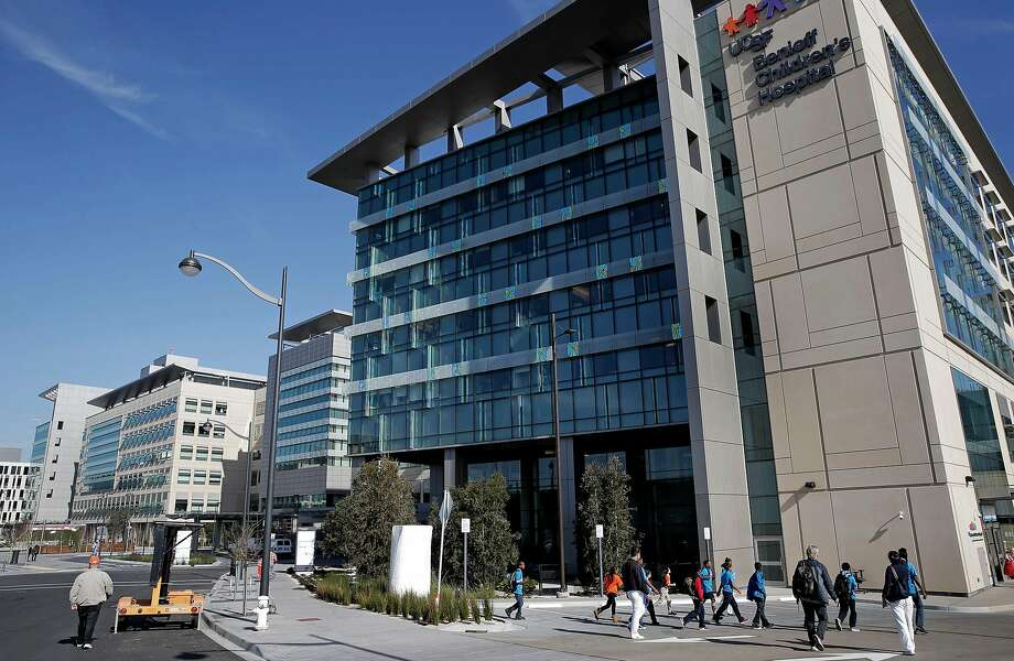 The UCSF Medical Center at Mission Bay in San Francisco is going to be the home of a new effort to cut cancer drug discovery times from six years to one. Photo: Michael Macor, The Chronicle