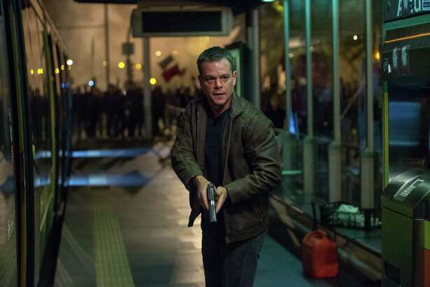 """In this image released by Universal Pictures, Matt Damon appears in a scene from """"Jason Bourne."""" (Jasin Boland/Universal Pictures via AP) ORG XMIT: NYET107"""
