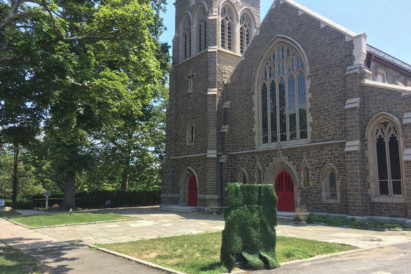The plaza of Christ Church is the next target for renovation as part of the church's $10 million upgrade.
