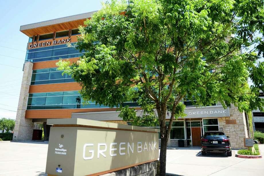 Green Bank headquarters Tuesday, May 17, 2016 in Houston. Photo: Erin Hull / Erin Hull
