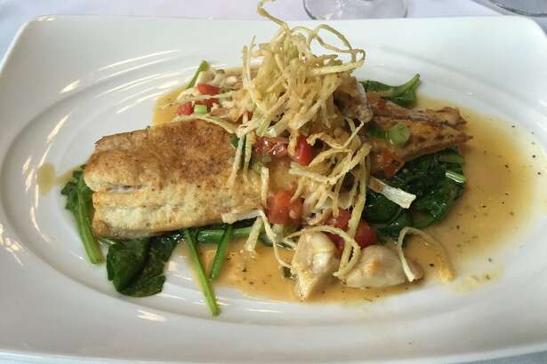 Amerigo's Grille    25250 Grogan's Park Dr. in The Woodlands, (281) 362-0808  Amerigo's Grille will offer a three-course dinner for $45 during Houston Restaurant Weeks. One of the entree options, the snapper Amerigo's (pictured), is usually $39. 