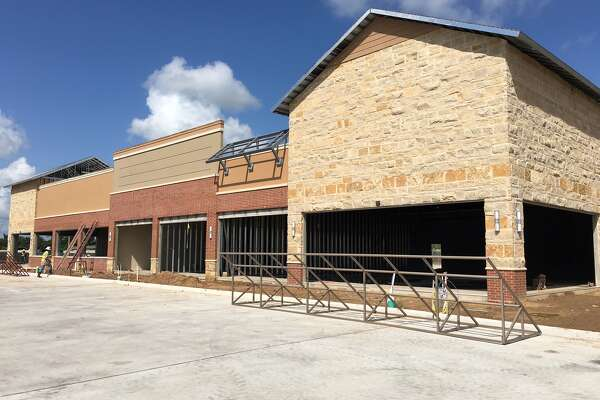 Construction is underway in Fairfield Town Center, where many stores  will open this fall. (WP Glimcher photo)