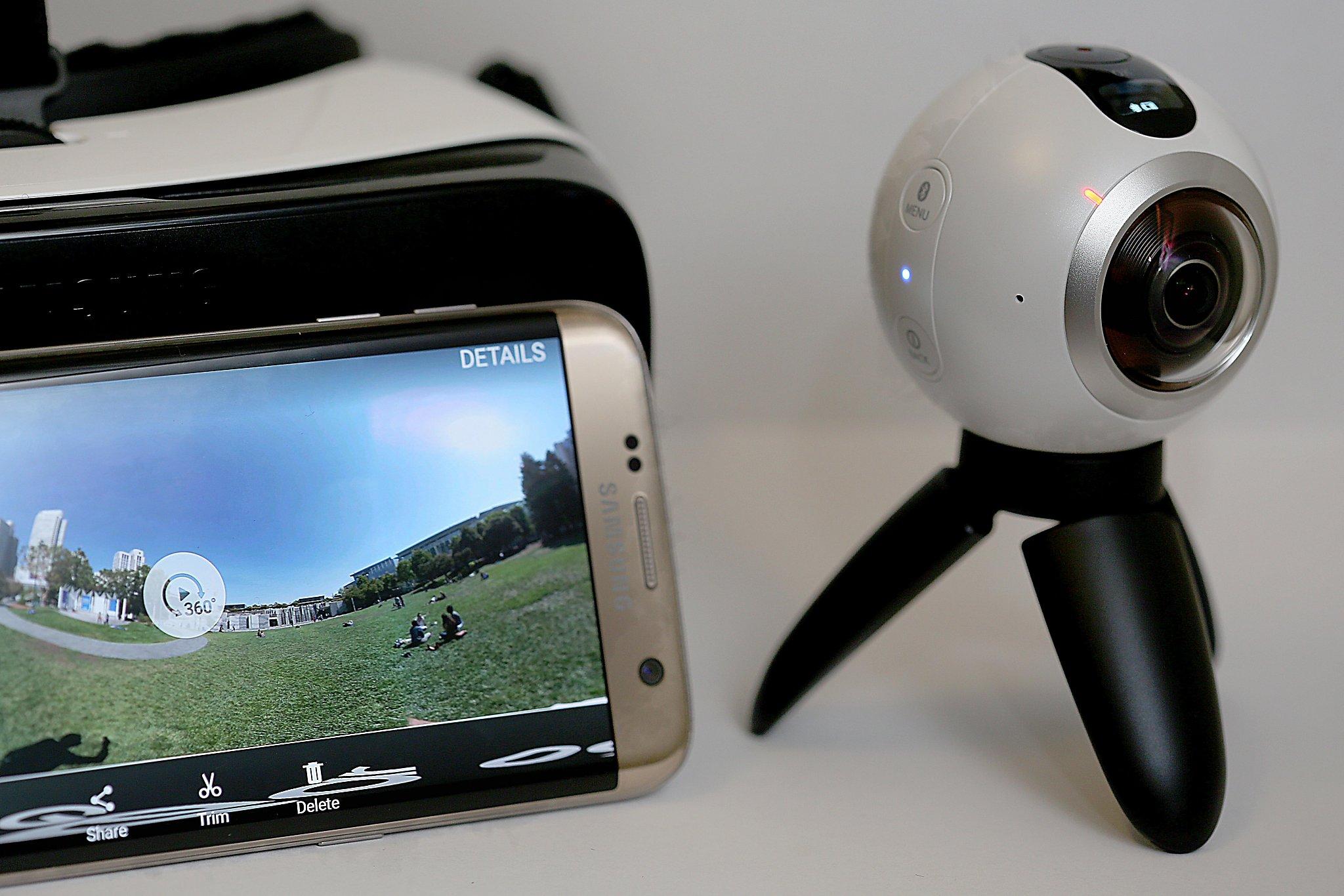Review Samsung Gear 360 Virtual Reality Camera Sfchroniclecom