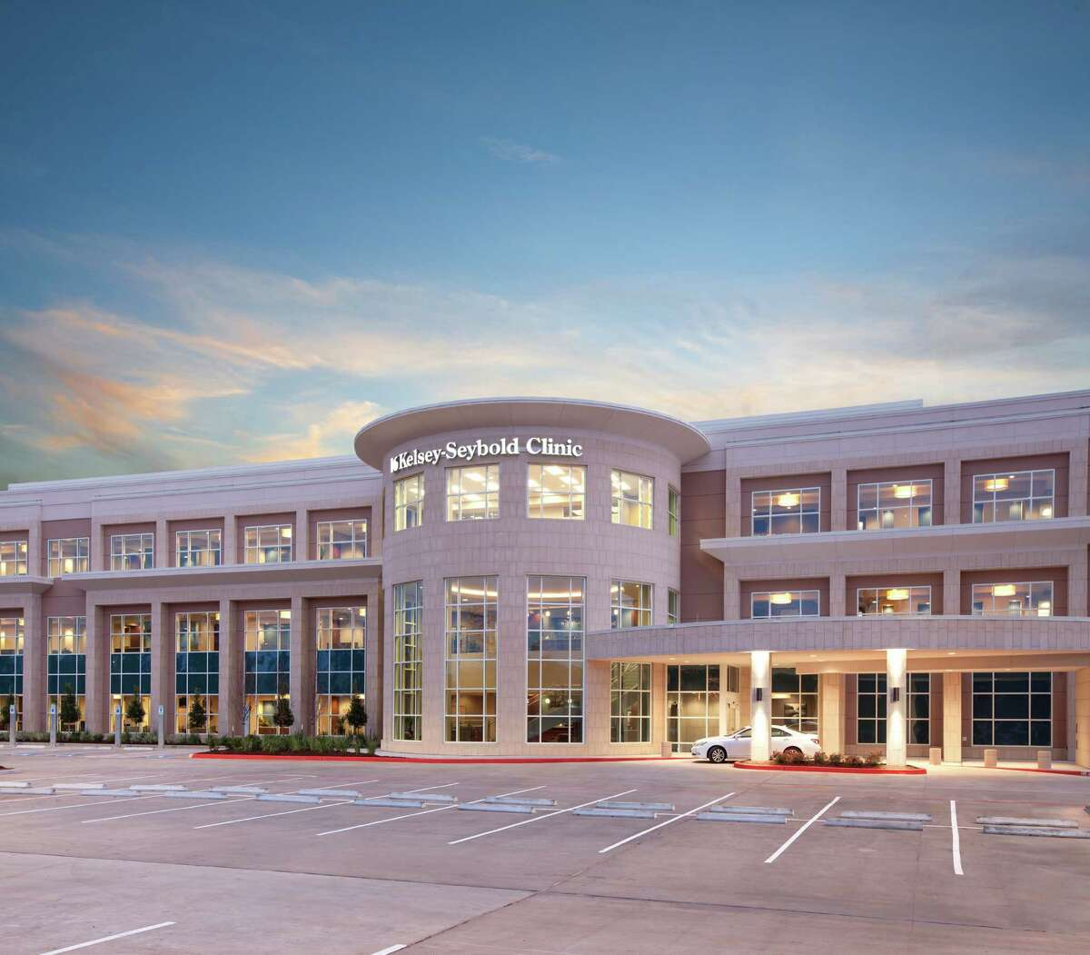 Kelsey-Seybold Clinic will acquire Conroe Family Medicine at the beginning of March. The Kelsey-Seybold Clinic - The Woodlands location is pictured above.