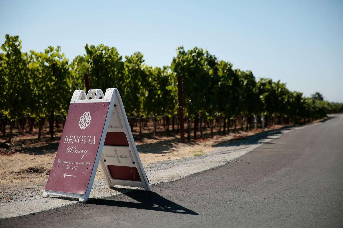Benovia Winery and tasting room in Santa Rosa, California, Sunday, July 24, 2016. Ramin Rahimian/Special to The Chronicle