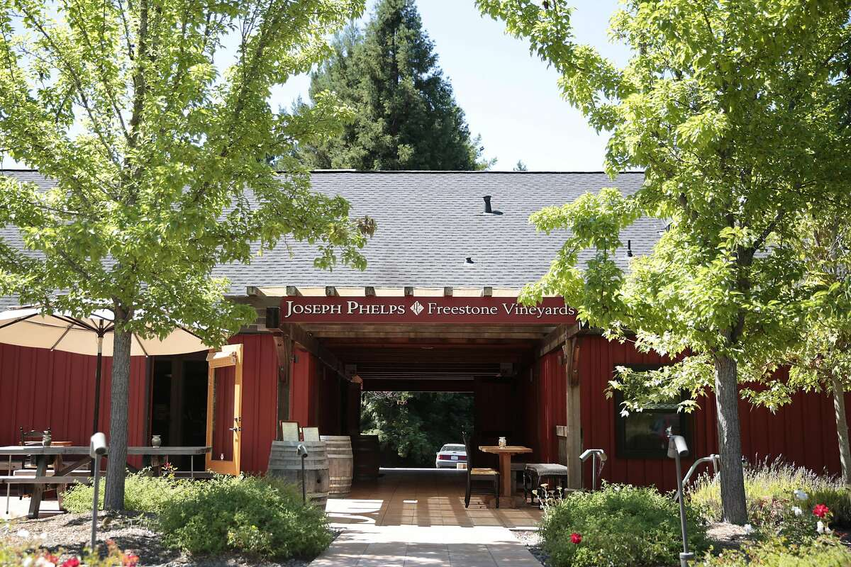 The Joseph Phelps winery tasting room in Freestone, California, Friday, July 22, 2016. Ramin Rahimian/Special to The Chronicle