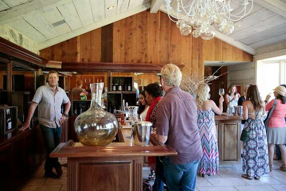 Limerick Lane Cellars tasting room in Healdsburg, California, Friday, July 22, 2016. Ramin Rahimian/Special to The Chronicle