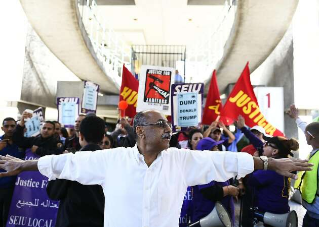 4 SF supervisors join janitors' protest for better pay, benefits