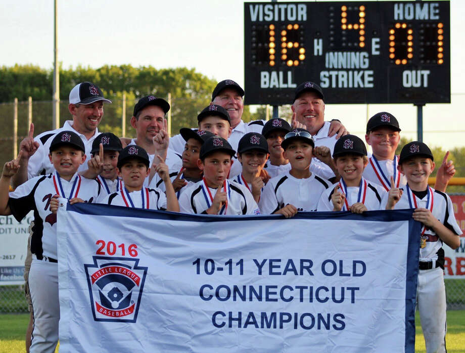 Stamford National beat Farmington 16-1 on Wednesday, July 27, 2016 to win the Little League U11 state championship. Photo: Contributed Photo / Contributed Photo / Stamford Advocate Contributed