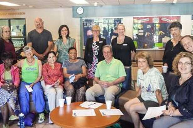 The Guilderland Y hosted a cultural awareness forum to seek input from community members on how to become more inclusive. Cross cultural awareness expert Sujata Chaudry (back row: third from left) facilitated the event on July 20. The Director of the Guilderland Y Dorry Foster (back row: fourth from left) and Albany County Legislator Mark Grimm (first row: third from right) from Guilderland also took part. Those wanting to become more involved should contact Foster at 456-3634.