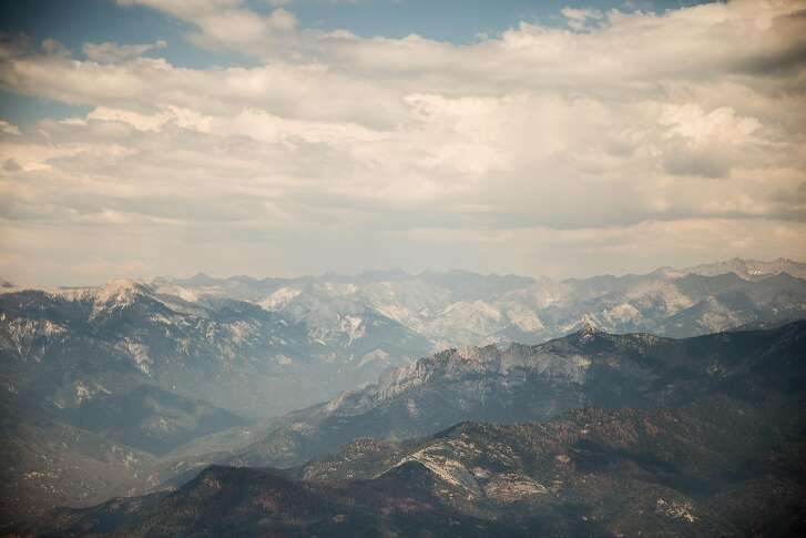 The Sierras near Sequoia-Kings Canyon National Parks, July 27, 2016.