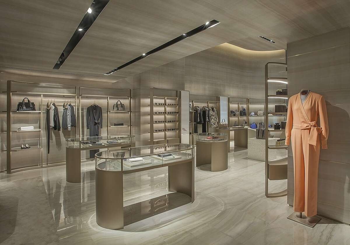 The Giorgio Armani boutique in San Francisco has moved from its former home on Post Street to a new location at 166 Geary St. It's the first Armani boutique in the U.S. to be designed using inspiration from the new-concept Armani boutique in Milan, which opened in 2015.