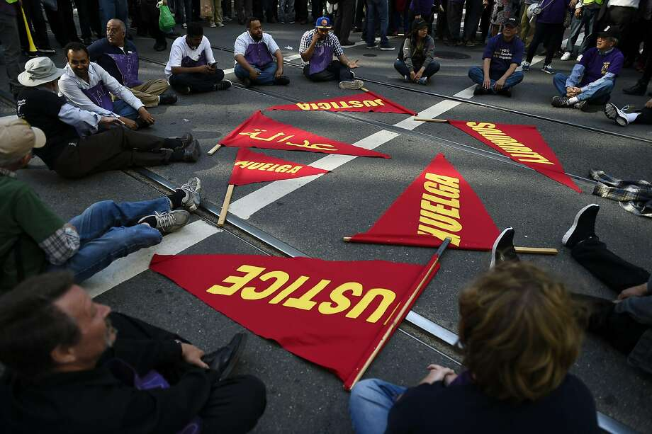 SF janitors reach contract deal, avoiding strike - SFGate