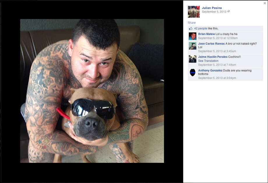 Julian Pesina is shown in a photo from his Facebook page.Keep going to see the facts you need to know about the Texas Mexican Mafia.  Photo: Screen Grab / PHOTOS VIA FACEBOOK