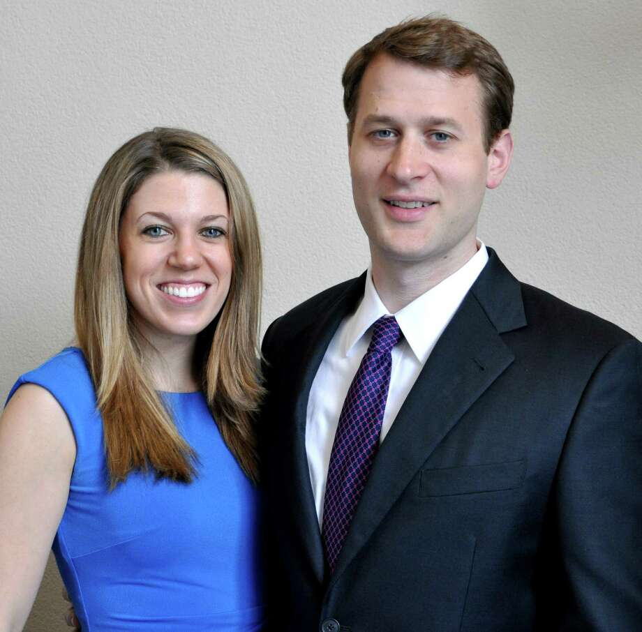 Anika Marie Papscoe and Reed Charles DeLuca. Photo: Contributed Photo