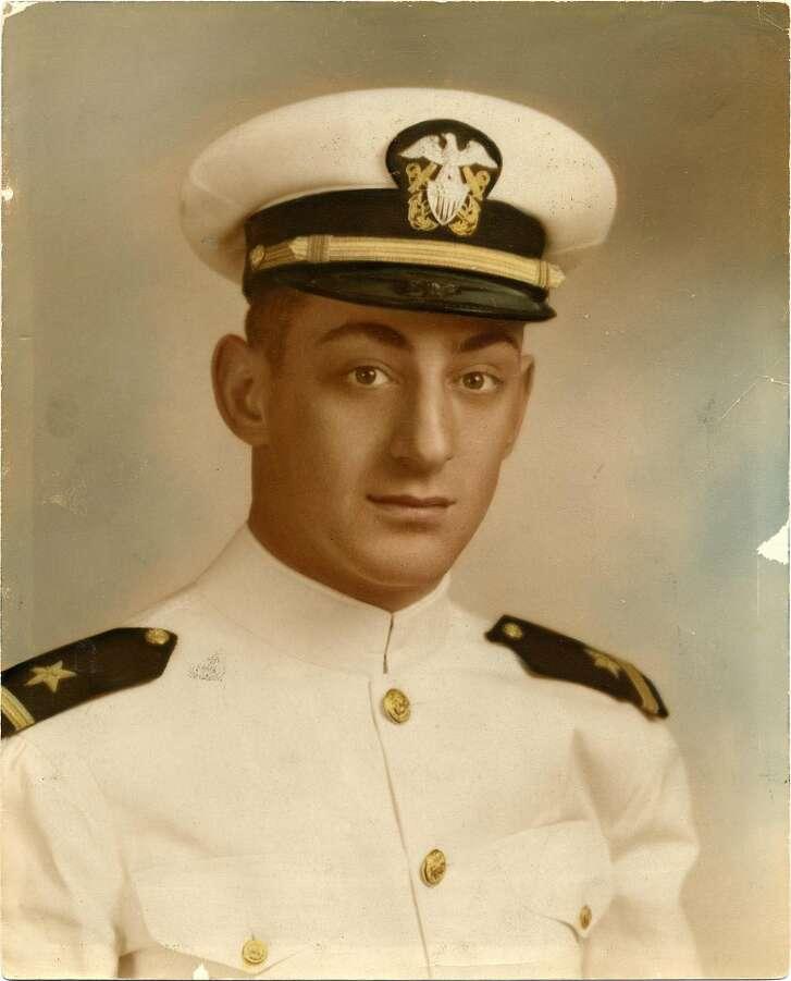 United States Navy Ensign Harvey Milk. Photo: San Francisco History Center, San Francisco Public Library