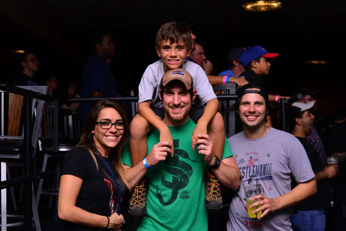 San Antonio wrestling fans were treated to the first stop of the WWE Nxt Live! Texas tour at the Aztec Theater on July 28, 2016.