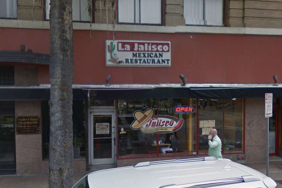 La Jalisco Mexican Restaurant #3: 130 Main Plaza, San Antonio, TX 78205 Date: 05/15/2018 Score: 71 Highlights: Inspector observed manager grab a knife