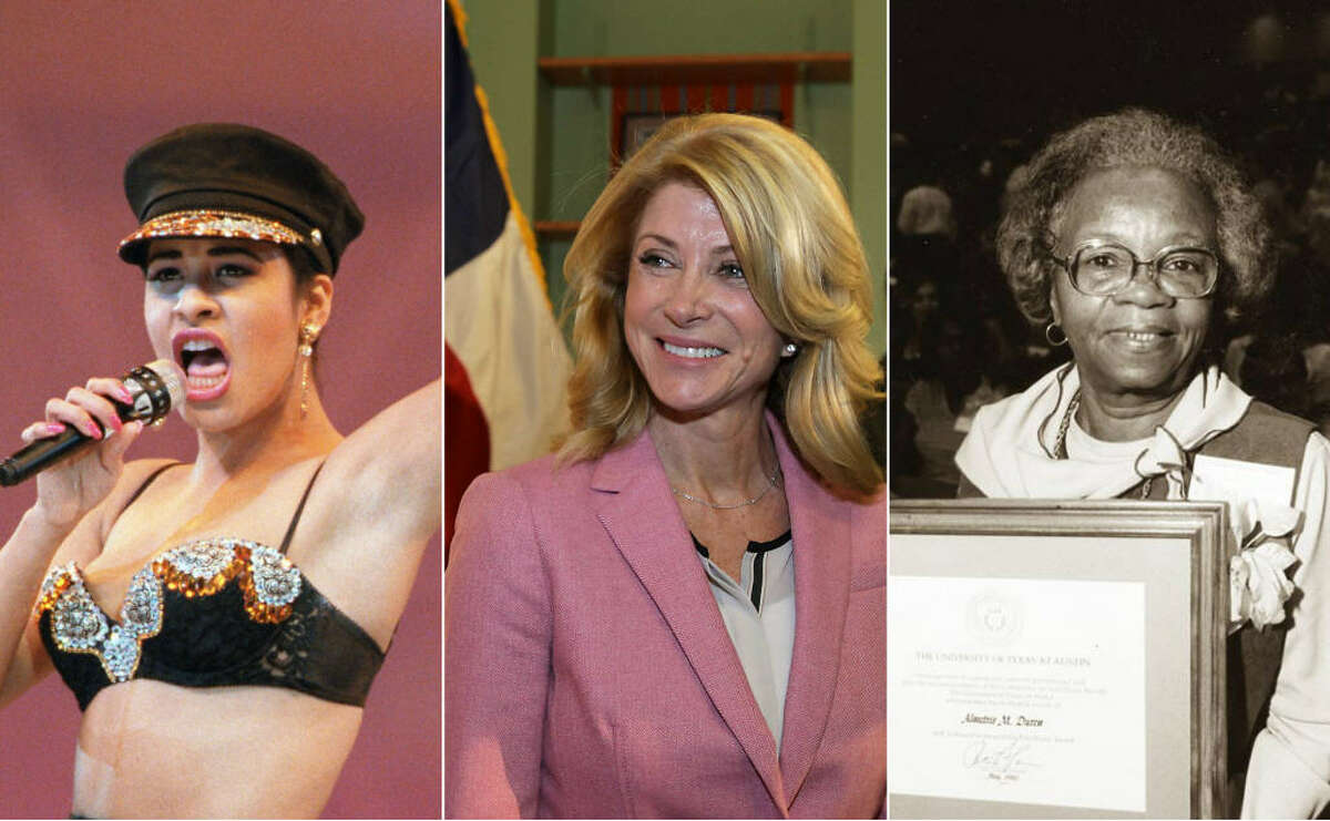 Click to see some of the women who made Texas and the nation what they are today.