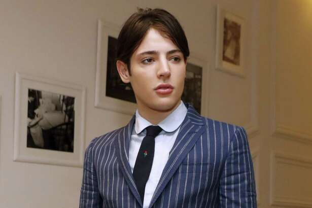 Harry Brant takes part in a Christian Dior fashion show in Paris on July 4. He now faces criminal charges in Greenwich after an incident in town on Thursday.
