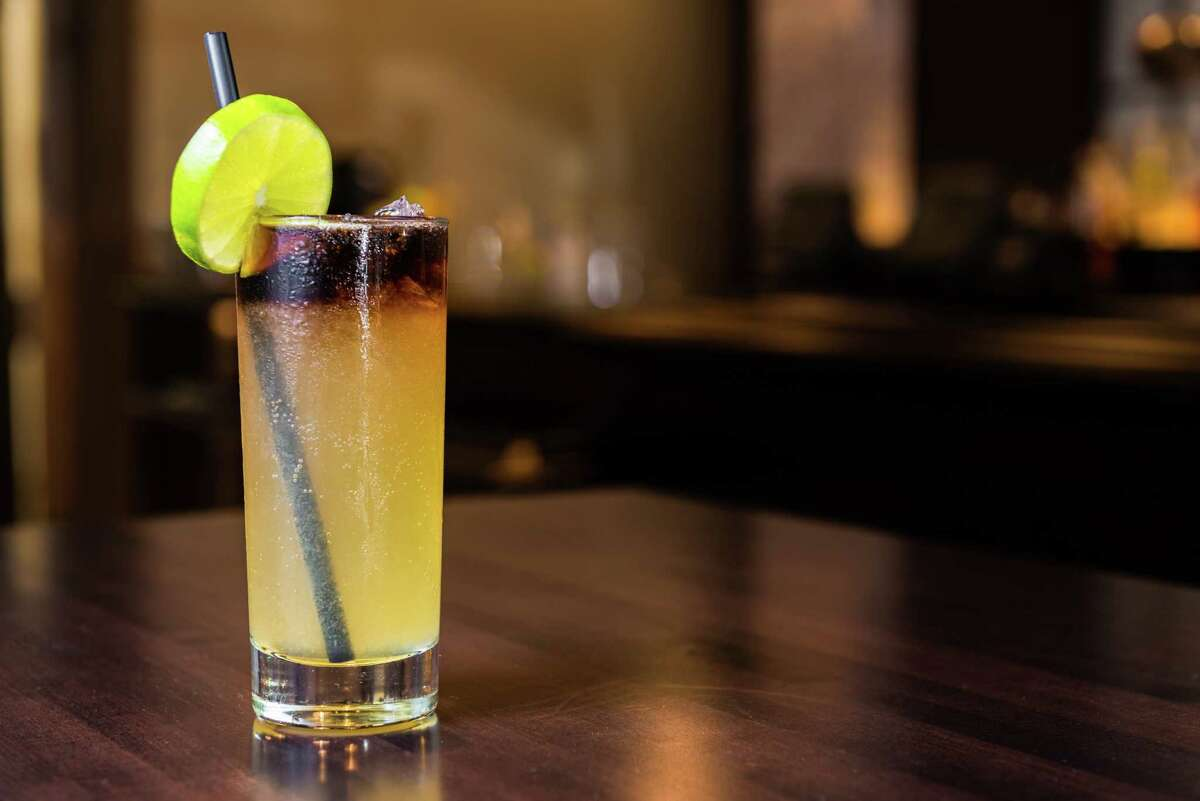 Bowl & Barrel, a bowling and dining experience, is opening at CityCentre, Houston, on Aug. 8. Shown: Cocktail.