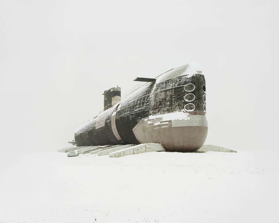 World's largest diesel submarine.Photographer Danila Tkachenko traveled thousands of miles in search of these abandoned sites, which used to showcase great technological progress in the former Soviet Union. Tkachenko's photos will be featured as a part of European Month of Photography in Berlin, September 2016. Photo: Danila Tkachenko, Kehrer Gallery