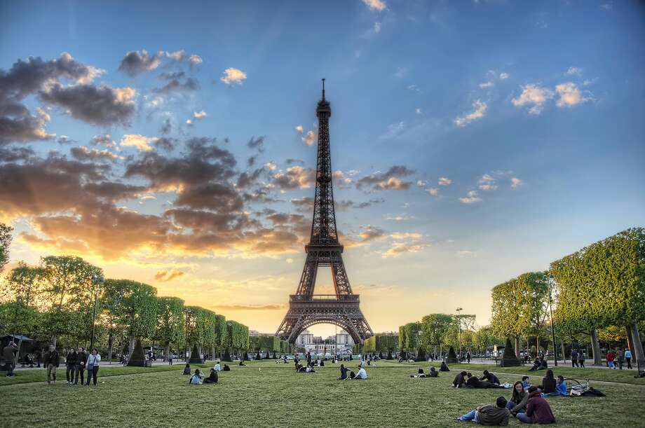 The Eiffel Tower from Champ de Mars. Feel free to call it Paree. They won't mind.
