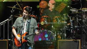 Dead & Company fronted by John Mayer perform at SPAC on Tuesday June 21, 2016 in Saratoga Springs, N.Y.  (Michael P. Farrell/Times Union)