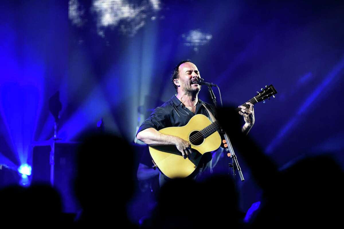 Dave Matthews takes center stage with the Dave Matthews Band on Friday, July 15, 2016, at Saratoga Performing Arts Center. Click through the slide show to see what celebrities have been sighted around the Capital Region. (Cindy Schultz / Times Union)