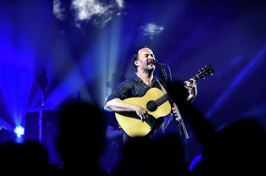 Dave Matthews takes center stage with the Dave Matthews Band on Friday, July 15, 2016, at Saratoga Performing Arts Center. Click through the slide show to see what celebrities have been sighted around the Capital Region. (Cindy Schultz / Times Union) Photo: Cindy Schultz / Albany Times Union