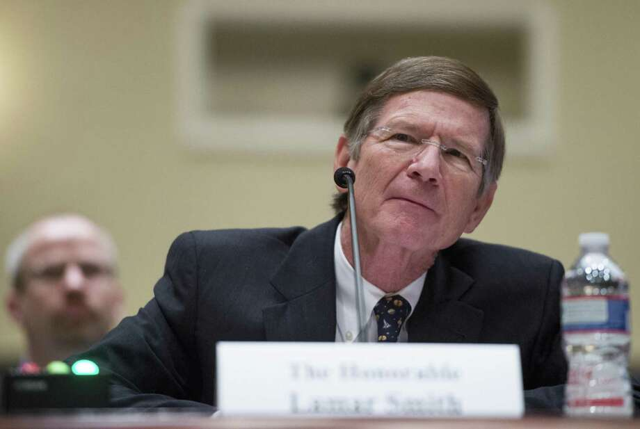 Rep. Lamar Smith, chairman of the Science, Space, and Technology Committee, has used his position to chill scientific inquiry of climate change. Photo: Associated Press / File Photo / CQPHO