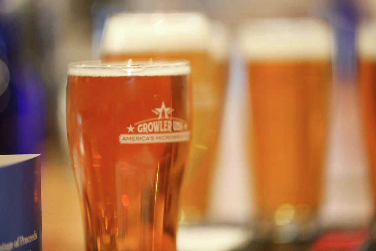 Growler USA is a new craft beer microbrew pub opened in Katy, 1443 FM 1463. It will mark its grand opening Aug. 11. The pub has 100 taps that include beer, wine, root beer and kombucha tea.