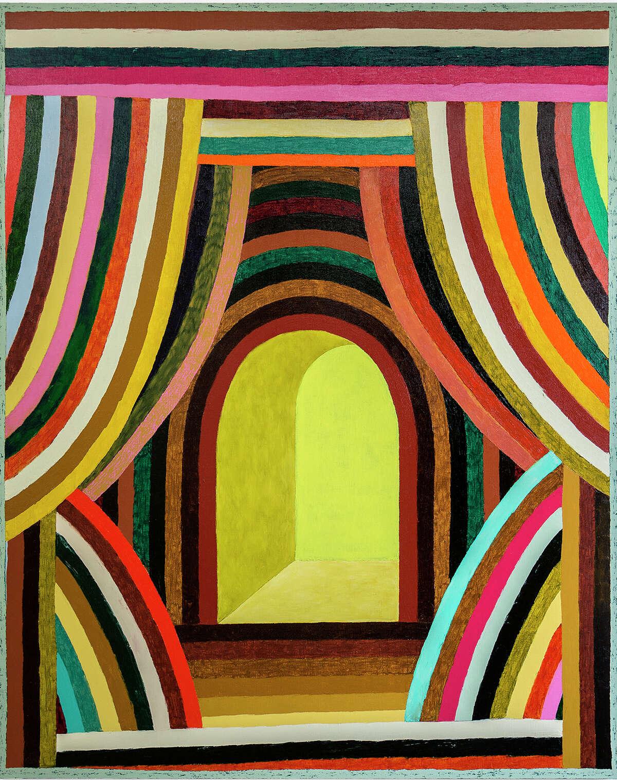 "Matt Kleberg's ""Caterwauler"" is the title work in his show at Hiram Butler Gallery."