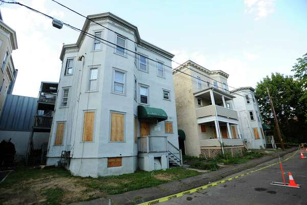 The houses on Stanley Court are set to be torn down.
