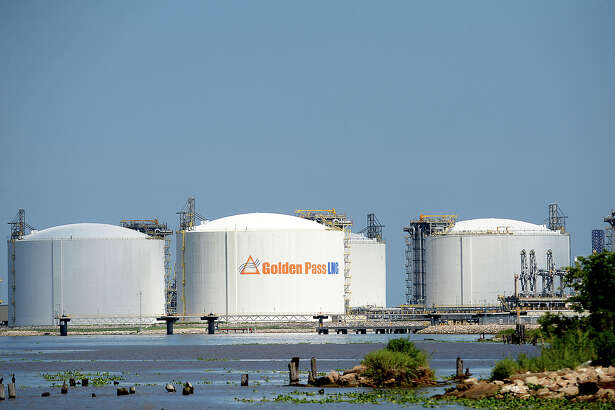 Among the items at issue for the Commissioner's Court is a possible tax abatement for Train 1 of the Golden Pass LNG terminal's conversion to export. Photo taken Monday, June 1, 2015 Kim Brent/The Enterprise