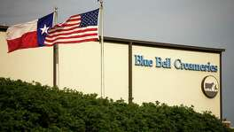 Blue Bell Creameries, seen in 2015, shut down operations and disappered from store shelves for months after a listeria outbreak. Three hospital patients who had pre-existing health problems died after eating the tainted product and others were sickened.