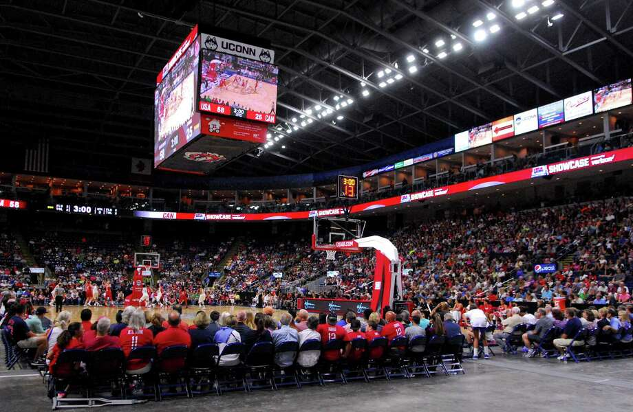 USA Women's Basketball Showcase action between USA and Canada at the Webster Bank Arena in Bridgeport, Conn. on Friday July 29, 2016. Photo: Christian Abraham / Hearst Connecticut Media / Connecticut Post