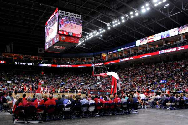 USA Women's Basketball Showcase action between USA and Canada at the Webster Bank Arena in Bridgeport, Conn. on Friday July 29, 2016.