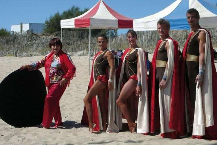 """A scene from the documentary """"Beaches of Agnes,"""" about filmmaker Agnes Varda. Beaches Of Agnes"""