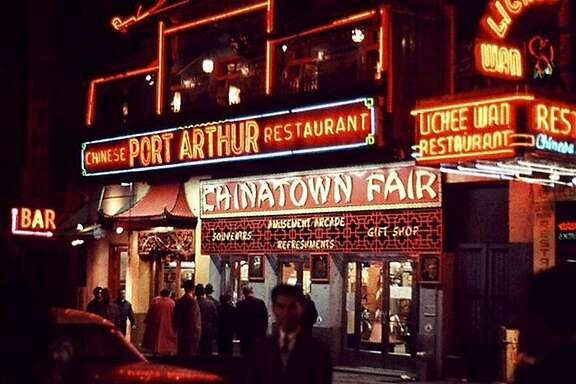 Chinatown Fair in the 1950s in a scene from the documentary �The Lost Arcade,� directed by Kurt Vincent and Irene Chin.