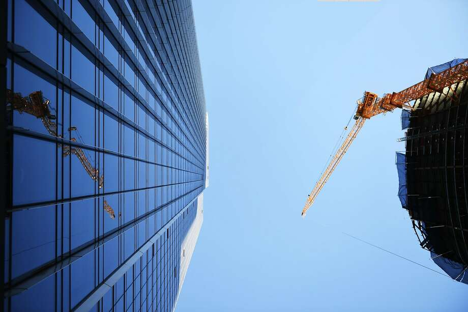 sf s landmark tower for rich and famous is sinking and tilting sfgate