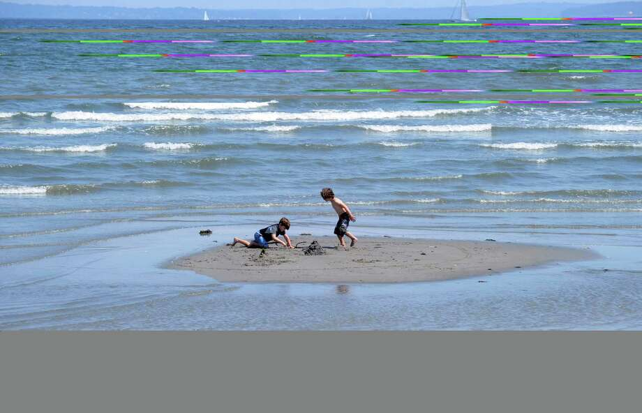 FILE: Greenwich beaches are experiencing their seasonal infestation of sea lice, which leave swimmers with itchy, irritating rashes and possibly headaches and nausea. Photo: Bob Luckey Jr., Hearst Connecticut Media / Greenwich Time