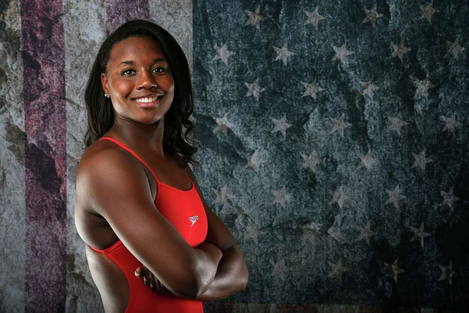 Simone Manuel says she is happy to be an inspiration to other black swimmers,  but she is uncomfortable with the emphasis that many place on her and Lia Neal for making the U.S. team.Simone Manuel says she is happy to be an inspiration to other black swimmers,  but she is uncomfortable with the emphasis that many place on her and Lia Neal for making the U.S. team. Photo: Sean M. Haffey, Staff / 2016 Getty Images